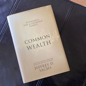 Signed Book Common Wealth by Jeffrey Sachs